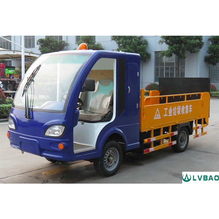 4 Wheel Electric Dustbin Transporter(8 bins)
